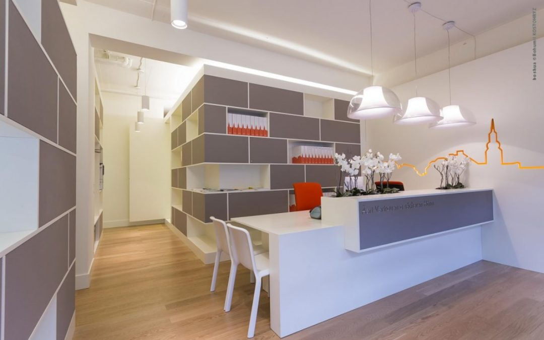 Office interior design – Foyer Agence Luxembourg
