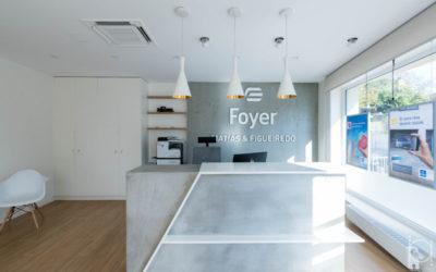 Office interior design – Foyer Agence Bettembourg